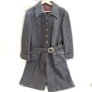 🖤 Vintage Reine Schurwolle Coat w/ waistbelt 🖤